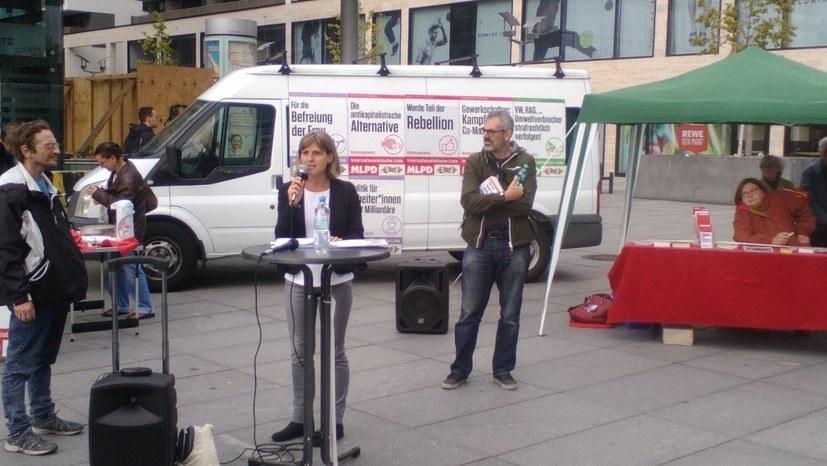 Wahlfete solidarisch mit Gabi Fechtner und Fritz Ullmann
