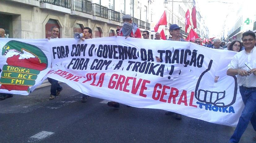 Portugals Arbeiter im Kampf gegen Monopole und Regierung