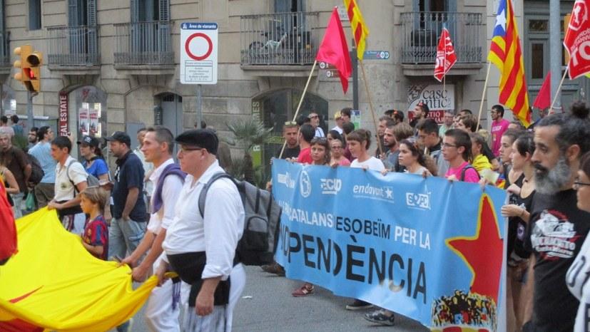 Massenproteste in Katalonien und ganz Spanien
