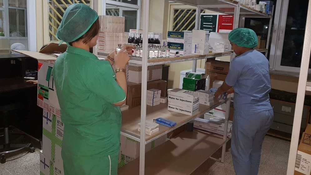 Die medizinische Ausstattung wird zunehmend besser (Foto: ICOR-Gesundheitszentrum)