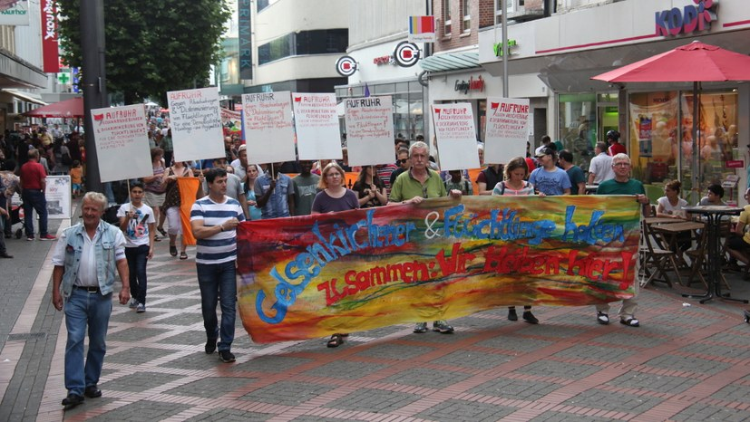 Entschiedener Protest gegen Abschiebung albanischer Familie