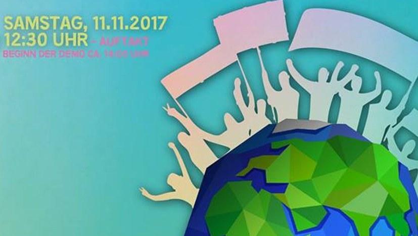 Bundesweite Demo am 11. November unterstützt Anti-Kohle-Demo kritisch