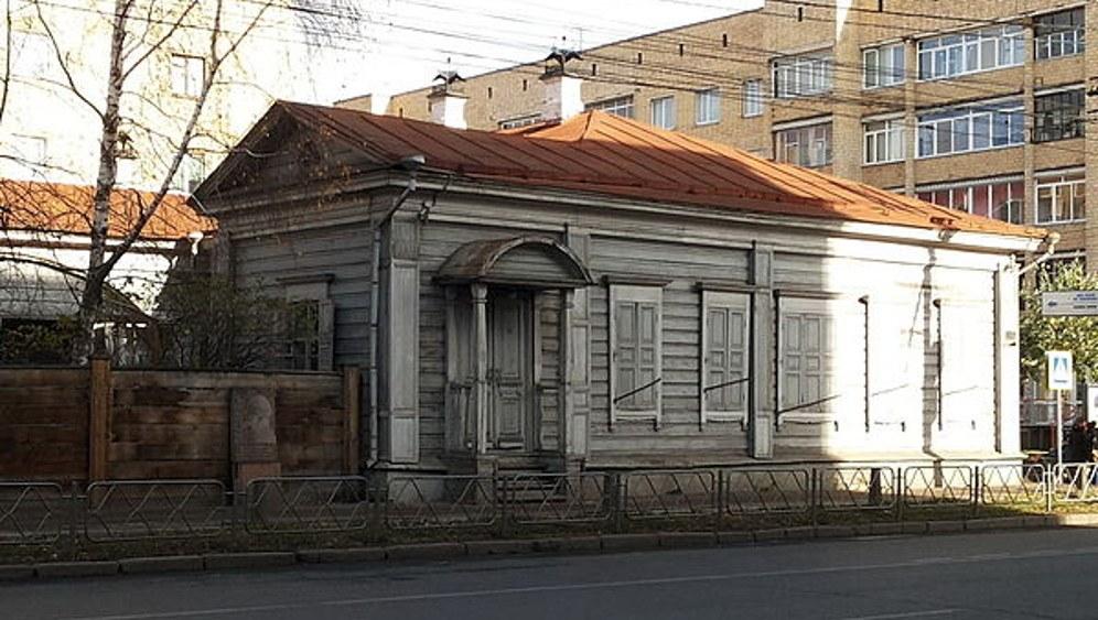 Das Haus, in dem Lenin während seiner Verbannung in Krasnojarsk gelebt hat (foto: Вера Дегтярёва (CC BY-SA 3.0 unported))