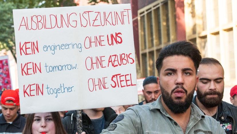 Klärungsprozess unter Stahlarbeitern kommt voran