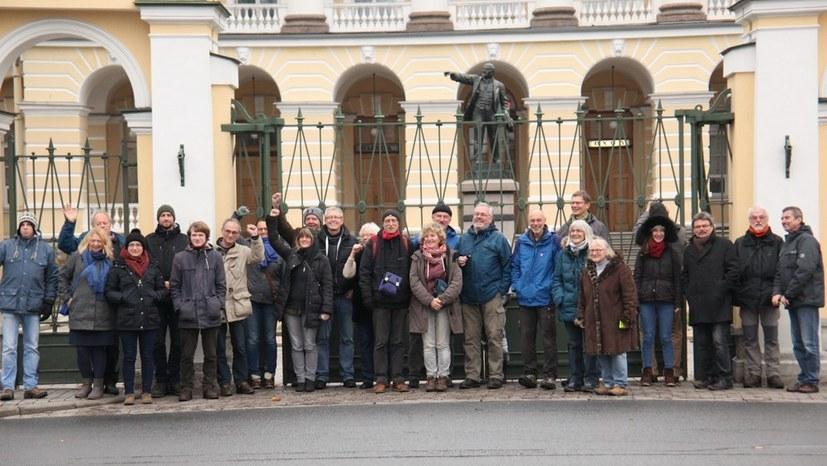 Zu den drei Tagen in St. Petersburg