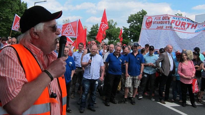 """6.900 Arbeitsplätze bedroht: """"Damit darf Siemens nicht durchkommen!"""""""