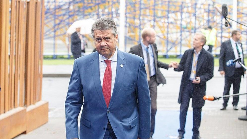 Noch-Außenminister Sigmar Gabriel (rf-foto)