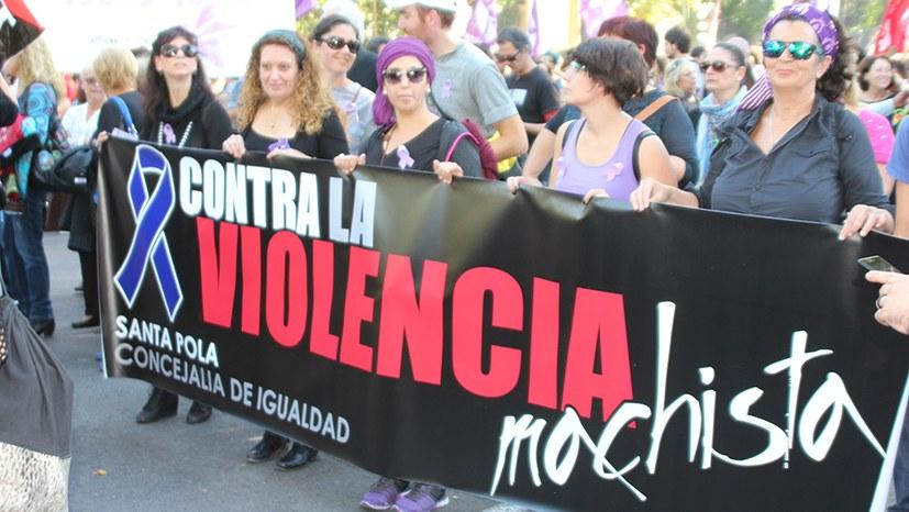 Aufruf zum Tag gegen Gewalt an Frauen