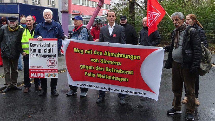 Siemens verliert gegen kämpferische Gewerkschaftsarbeit