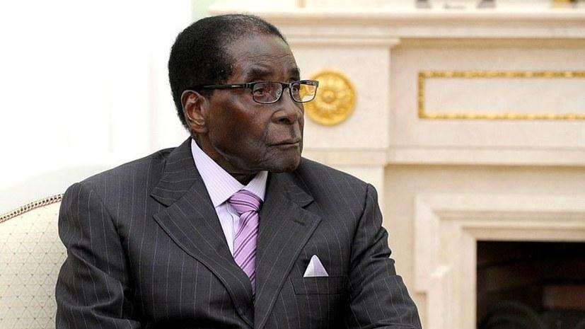 Massendemonstrationen gegen Mugabe