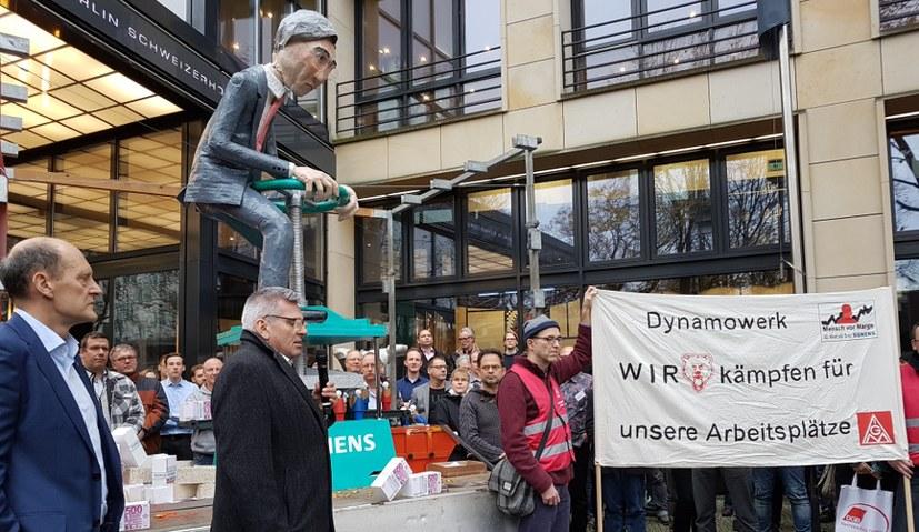 """""""Damit darf Siemens nicht durchkommen"""""""