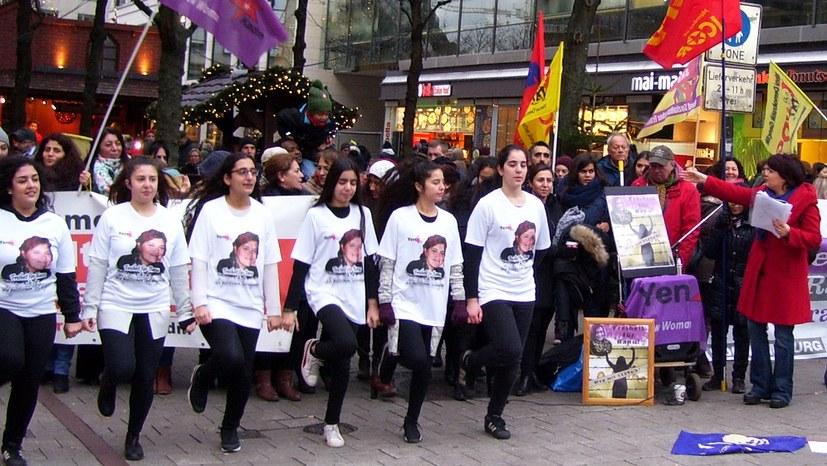 Veranstaltungen zum Internationalen Tag gegen Gewalt an Frauen