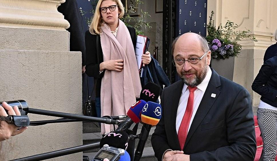 Ist gerade schwer unter Druck - SPD-Chef Martin Schulz (foto: EU 2016 SK (CC BY-SA 1.0))