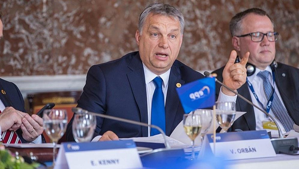 Zu den Gesprächspartnern Chinas gehörte auch der ultrareaktionäre Präsident Ungarns, Viktor Orban (foto: EPP (CC BY-SA 2.0 generic))