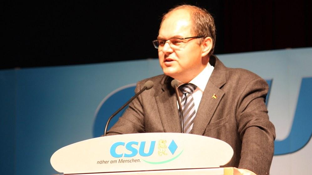 Landwirtschaftsminister Christian Schmidt (CSU) (Foto: J. Patrick Fischer / Own Work)