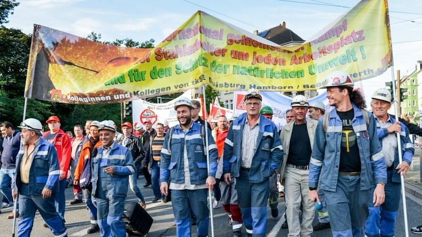 Solidarität mit den Beschäftigten bei Siemens und Thyssen-Krupp