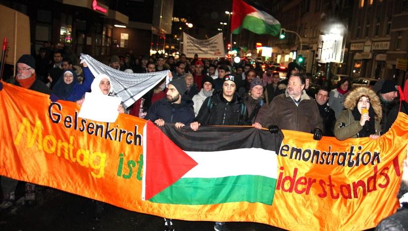Freiheit für Palästina – Hoch die internationale Solidarität!