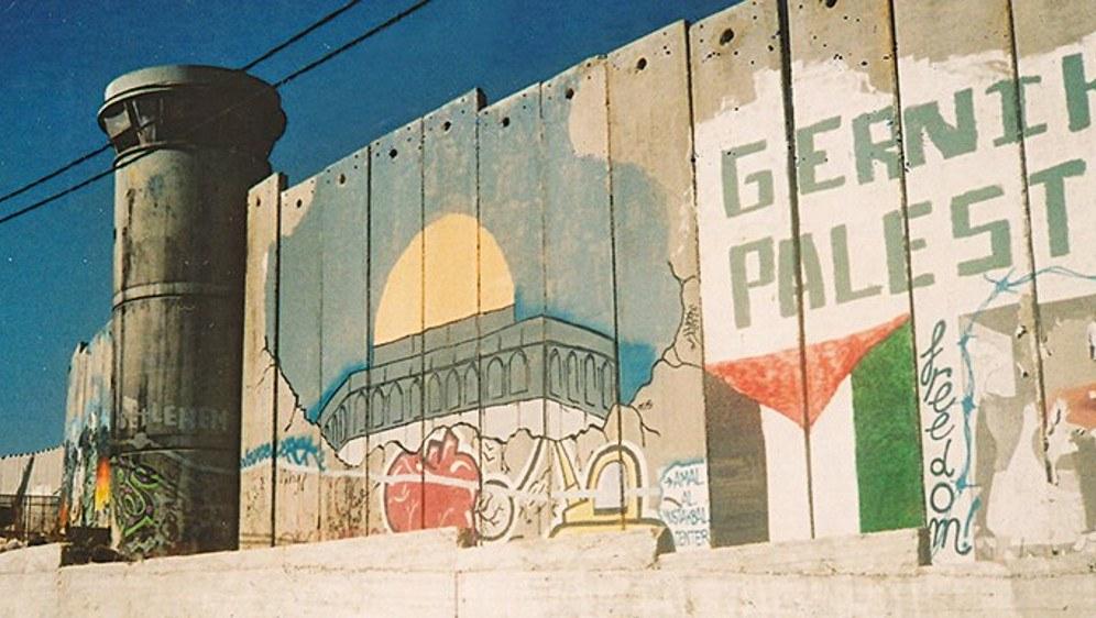 Die von Israel errichtete Mauer im Westjordanland ist verhasstes Symbol für das
