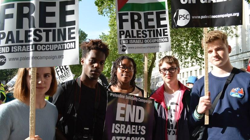 Gegen Trump, für die Solidarität mit Palästina auf die Straße