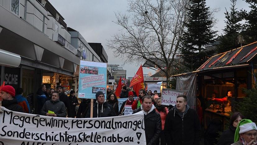 16. Dezember: Kämpferische mutige Aktion in Wolfsburg
