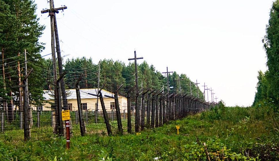 Eingezäuntes verstrahltes Gelände bei Majak (foto: Ecodefense/Heinrich Boell Stiftung Russia/Slapovskaya/Nikulina)