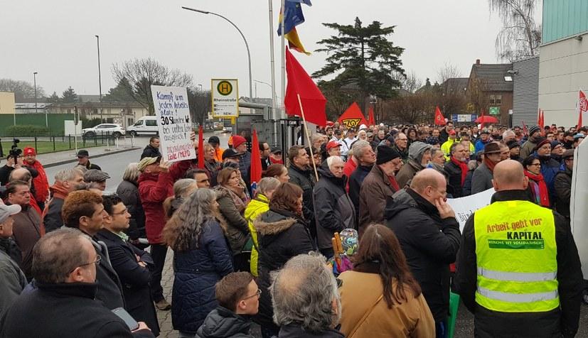 Belegschaften aus Mönchengladbach und Kassel kommen zusammen