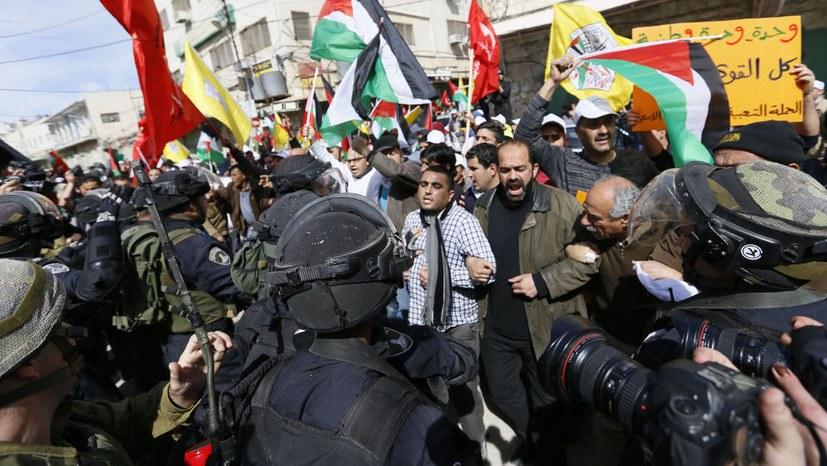 Proteste gegen Trumps Jerusalem-Entscheidung halten an