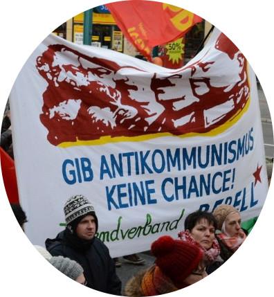 Ein Montagsdemonstrant aus Gelsenkirchen