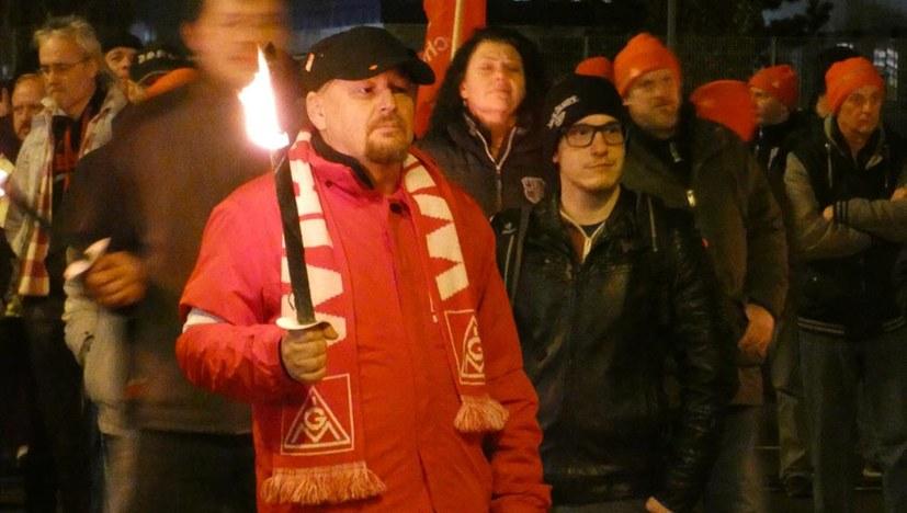"""""""Prägend war die Jugend auf Demonstration und Kundgebung"""""""
