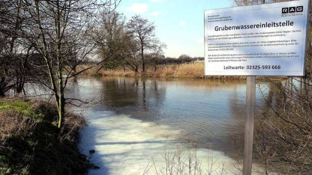 Vor dem Bochumer Landgericht wurde Klage erhoben gegen die von der RAG betriebene Flutung der Zechen