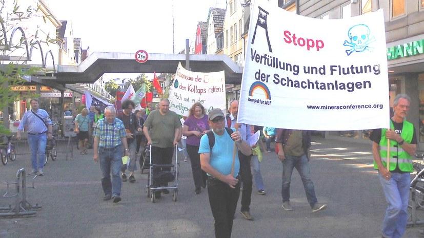 Bedeutender Etappenerfolg der Bergarbeiterbewegung gegen die RAG