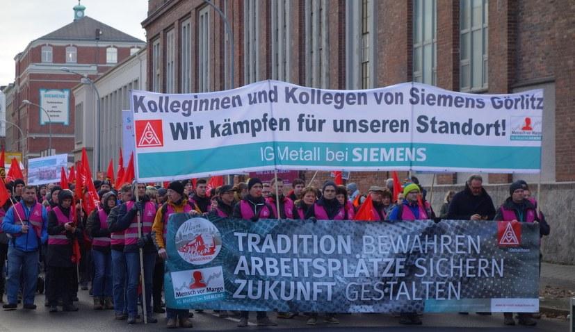 Eine Region steht auf – gegen Arbeitsplatzvernichtung durch Siemens und Bombardier