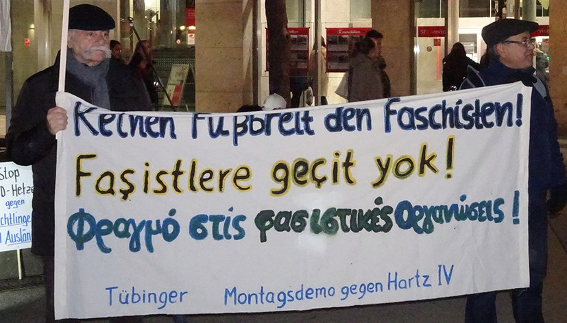 Protest gegen AfD-Neujahrsempfang