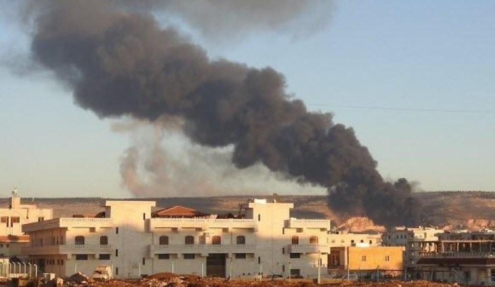In Efrîn brennt es nach türkischen Beschuss (foto: ANF)