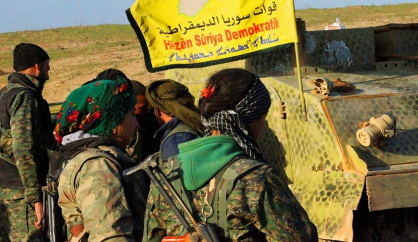 """""""Stoppt den faschistischen Angriffskrieg auf Rojava/ Nordsyrien!"""""""