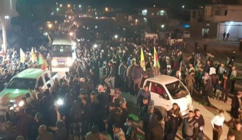 Marsch auf Efrîn hat Kobanê erreicht - Massenproteste im Irak