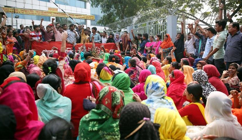 Solidarität mit den Textilarbeiterinnen von Bangladesch