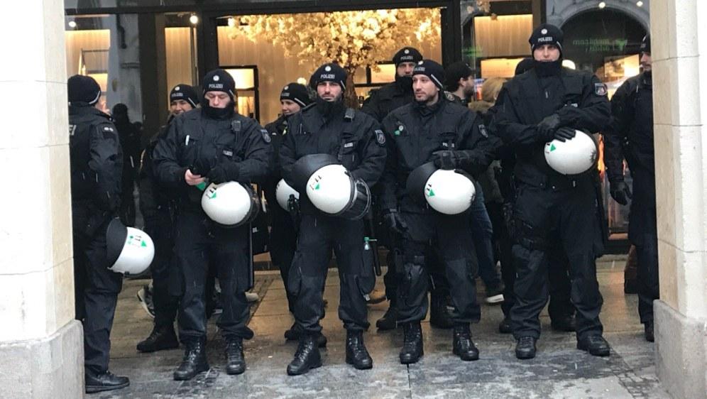 4.000 Polizisten schützen die Sicherheitskonferenz (Foto: RF)