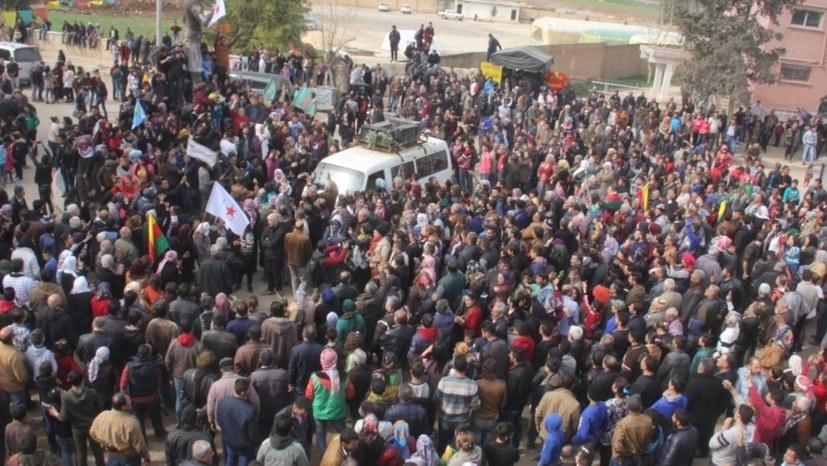 Aleppo unterstützt Efrîn