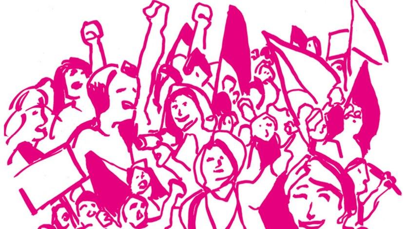 """""""Frauen die kämpfen, sind Frauen die leben"""""""
