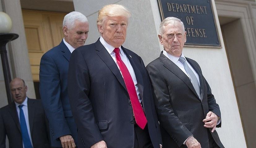 Hauptkriegstreiber Nummer 1 in der Welt: Die USA unter Donald Trump (foto: gemeinfrei)