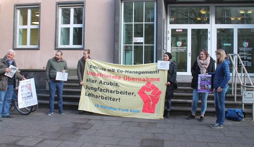 """""""Gütetermin"""" zur unbefristeten Übernahme von Katrin Papke"""