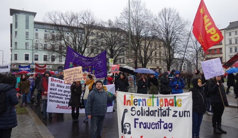 Demonstration anlässlich des Frauentags vor einigen Jahren in Berlin (rf-foto)