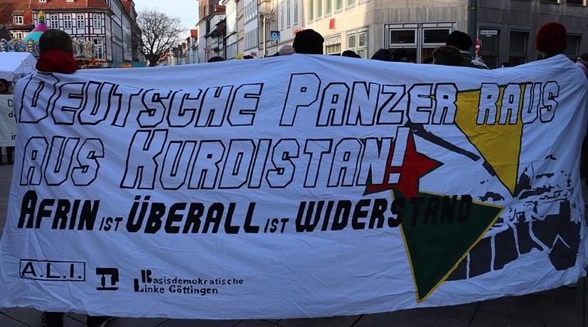 """""""Efrîn steht nicht alleine - gegen jede imperialistische Einmischung"""""""