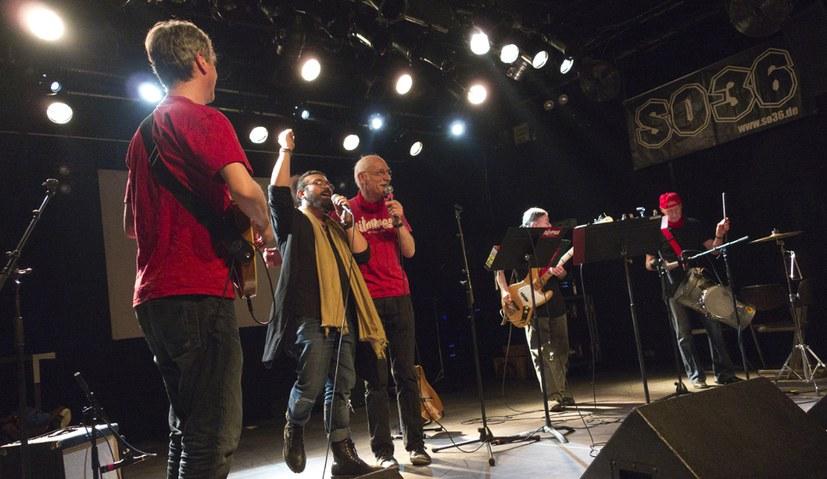 Gelungenes internationalistisches Konzert in Berlin