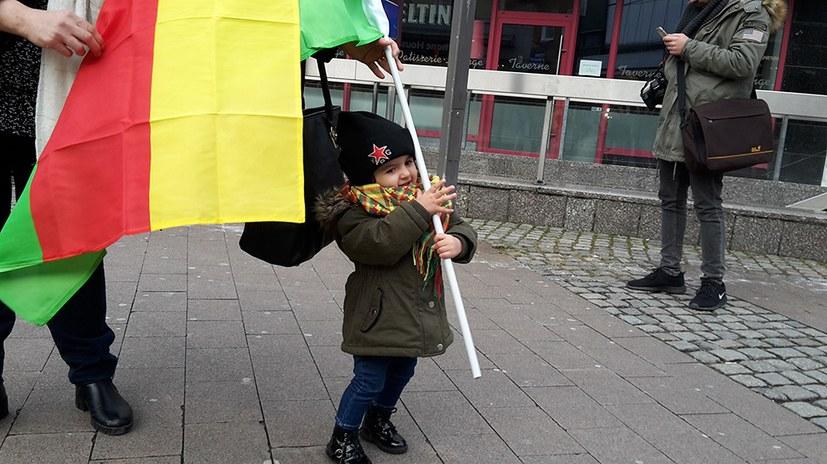 Symbole des Kampfs um Freiheit und Demokratie konnten durchgesetzt werden