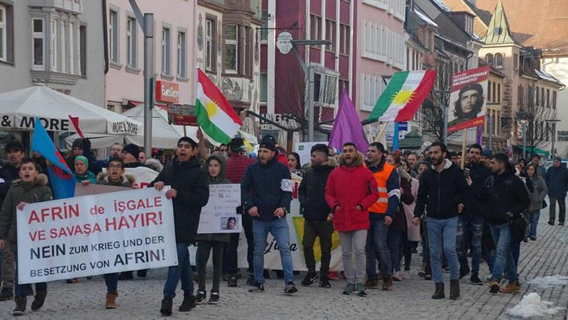 Efrîn-Aktionstag auch in Villingen-Schwenningen