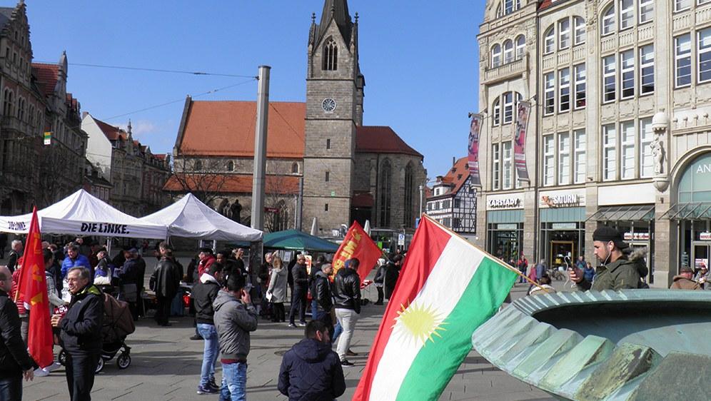 Ostermarsch 2018 in Erfurt (rf-foto)