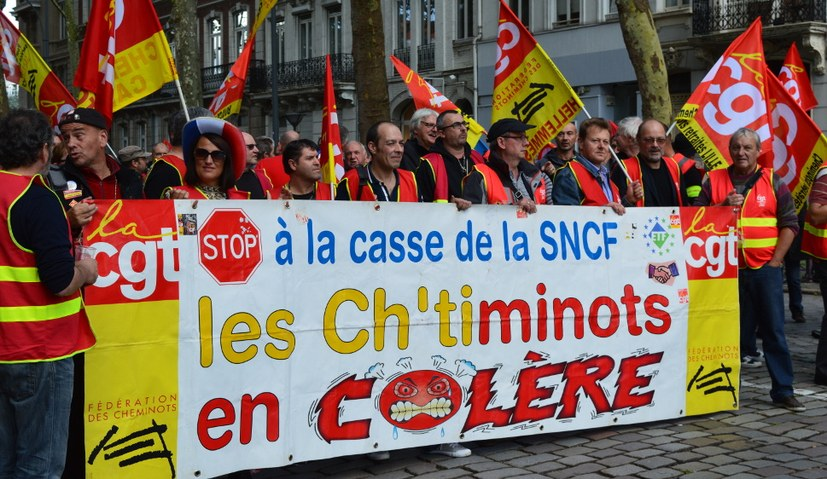 Massenstreiks gegen Macrons Rechtsruck