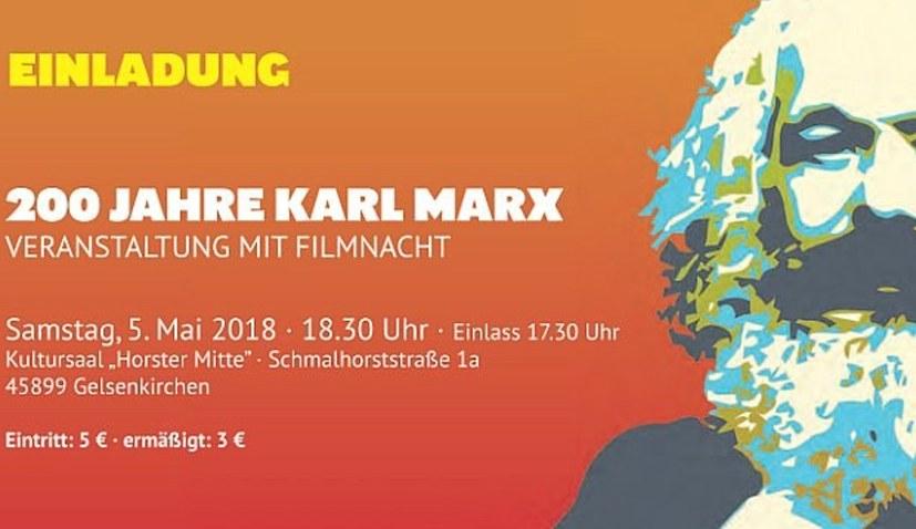 MLPD feiert 200 Jahre Karl Marx